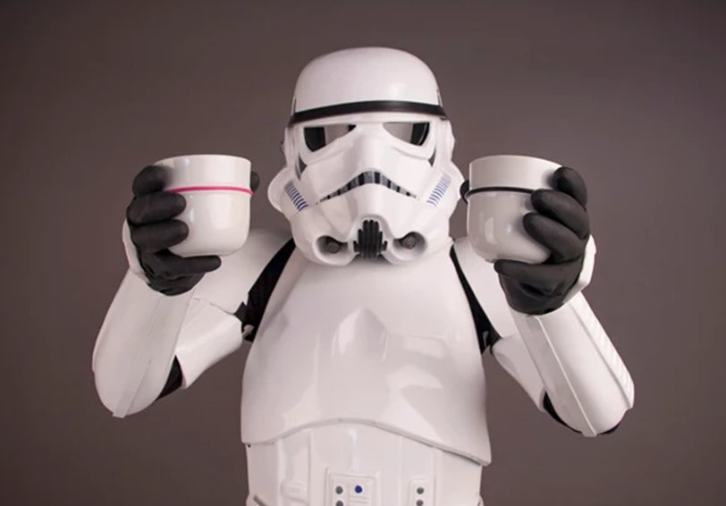 Wow, you saved the #day! #coffee #StarWars #coffeelovers #coffeeaddicts<br>http://pic.twitter.com/065jaNPeN4
