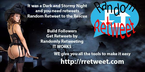 Dont Be left in the Dark use Random Retweeter #asmsg #ian1 #iartg #author #tools  http:// rretweet.com  &nbsp;  <br>http://pic.twitter.com/jTadUiSbxb