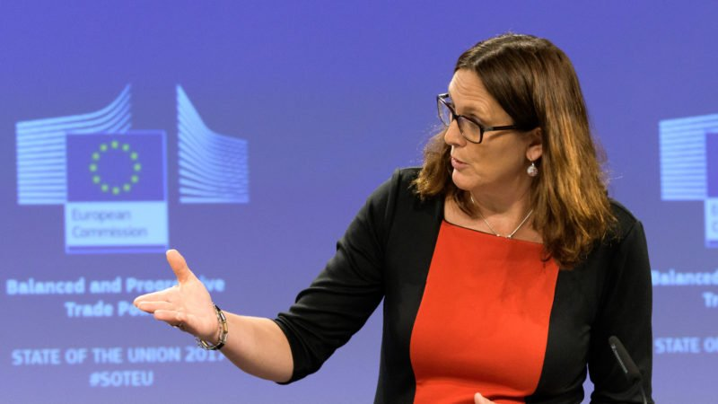 #EU passes new trade law to limit cheap Chinese imports which are affecting EU jobs &amp; companies. Now exporters to EU must strictly follow int&#39;l social &amp; environmental norms. Angry #China says, act defies #WTO rules and warns it may affect bilateral trade. <br>http://pic.twitter.com/5PiJuvryvF