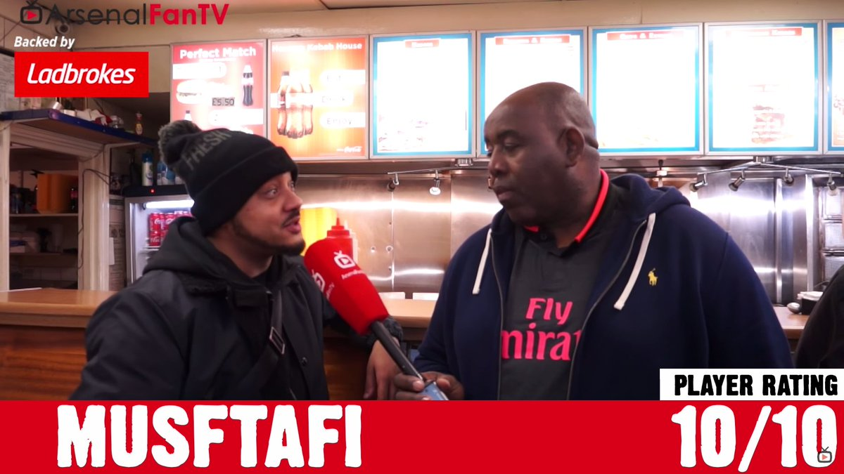 Dunno why but I was watching @ArsenalFanTV &#39;s player rating for #NorthLondonDerby   but then I was acknowledged that Robie &amp; co just signed a new player for  @Arsenal  &quot;MUSFTAFI&quot;  #AFC #ARSTOT<br>http://pic.twitter.com/EKkP9pgmPk