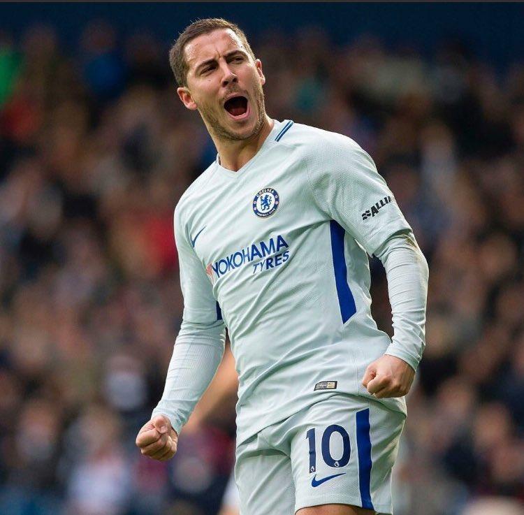 #Chelsea PL scorers:  Frank Lampard 147 goals Didier Drogba 104 goals Floyd Hasselbaink 69 Eden Hazard 60 Zola 59  Legend in making  #CFC <br>http://pic.twitter.com/CsNAXJtkRH