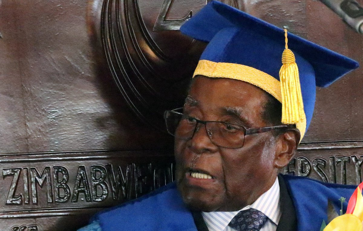 BREAKING: Zimbabwe's ruling party has sacked Robert Mugabe as leader. A senior figure says they're now going to start the process of removing Mugabe as president.