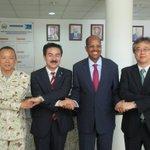 【ユスフ外務大臣との意見交換@ジブチ外務省】6度訪日経験のあるユスフ外相、経済協力や海の安全保障、安…