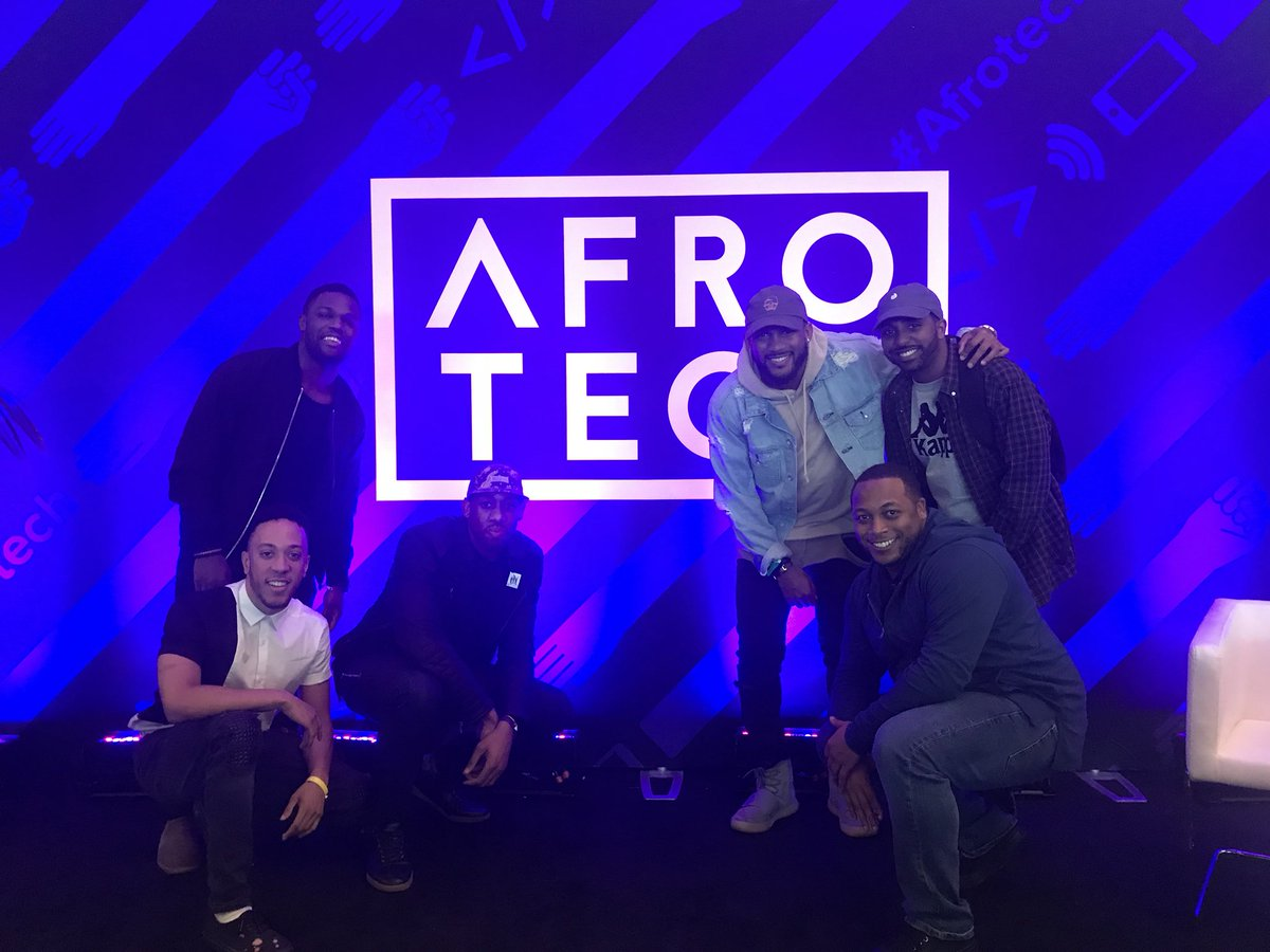Hokie squad @ #AfroTech ✊🏾 https://t.co/...