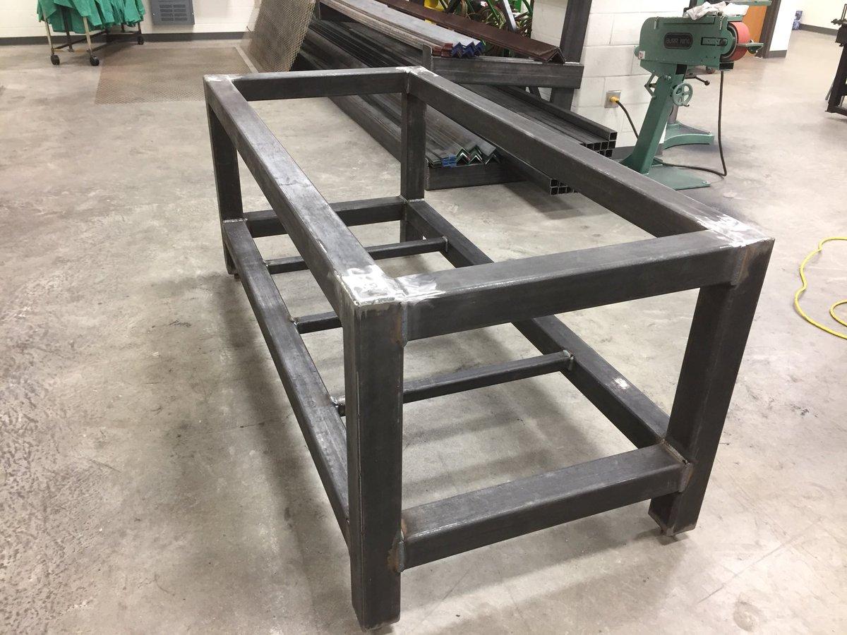 Wrangler Welding Lab John McDaniels On Twitter We Are Building - 4x8 steel table