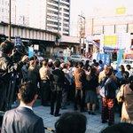 ただいまの大曽根駅前です。お集まりいただきありがとうございます🏯🍤 #大曽根大作戦1112 pic.…