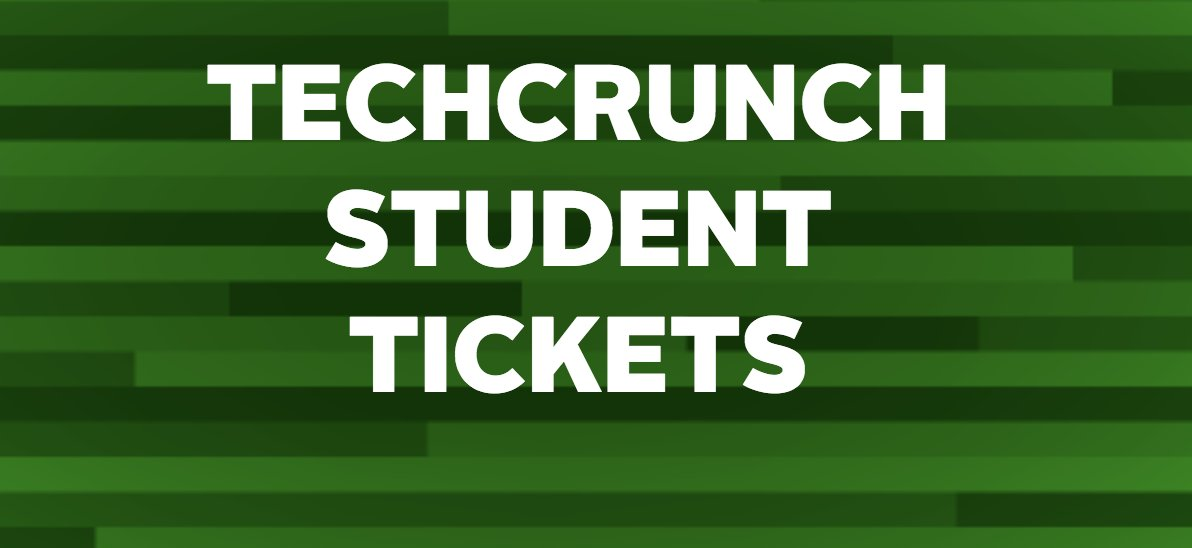 Calling all students! Get discounted tickets to Disrupt Berlin! https://t.co/OI4NWSV01f #TCDisrupt https://t.co/VwfF3EiMZH