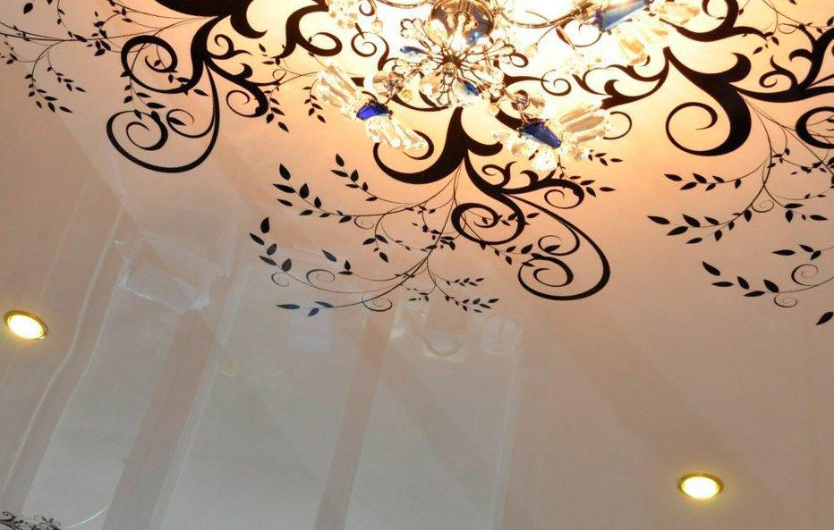 картинки с узорами на потолок нашем
