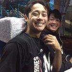 台湾での3試合、お疲れ様でした。二木投手と平沢選手はこの笑顔。この遠征をキッカケに来年のさらなる飛躍…