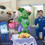 皆さんこんばんは!先日、NHK Eテレ【みいつけた!】のスイちゃん、サボ子さん、コッシーが筑波宇宙セ…