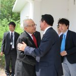 【今回のジブチ訪問でお世話になった方々、感謝】新井大使以下大使館のスタッフ(仲の良いチーム、皆、笑顔…