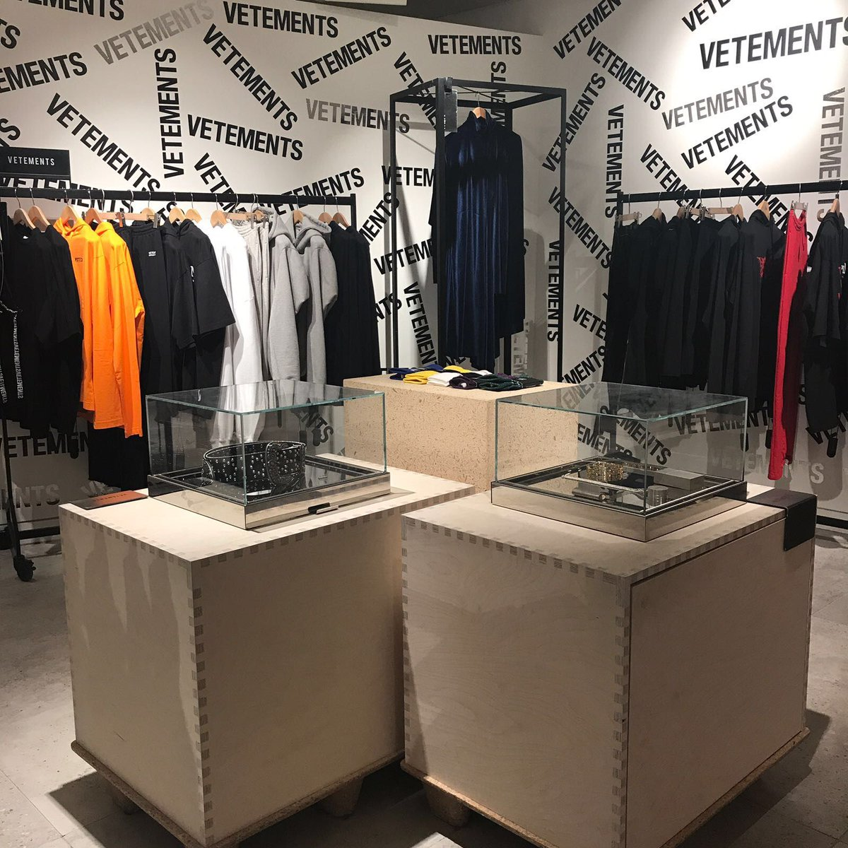 Your latest #Vetements fix is waiting in the #SelfridgesLondon Designer Studio - what are you waiting for?<br>http://pic.twitter.com/2mGi1wrbyn