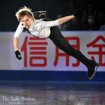 t.asahi.com/o1ty フィギュア #NHK杯 の最終日、エキシビションで演技する、男子優…