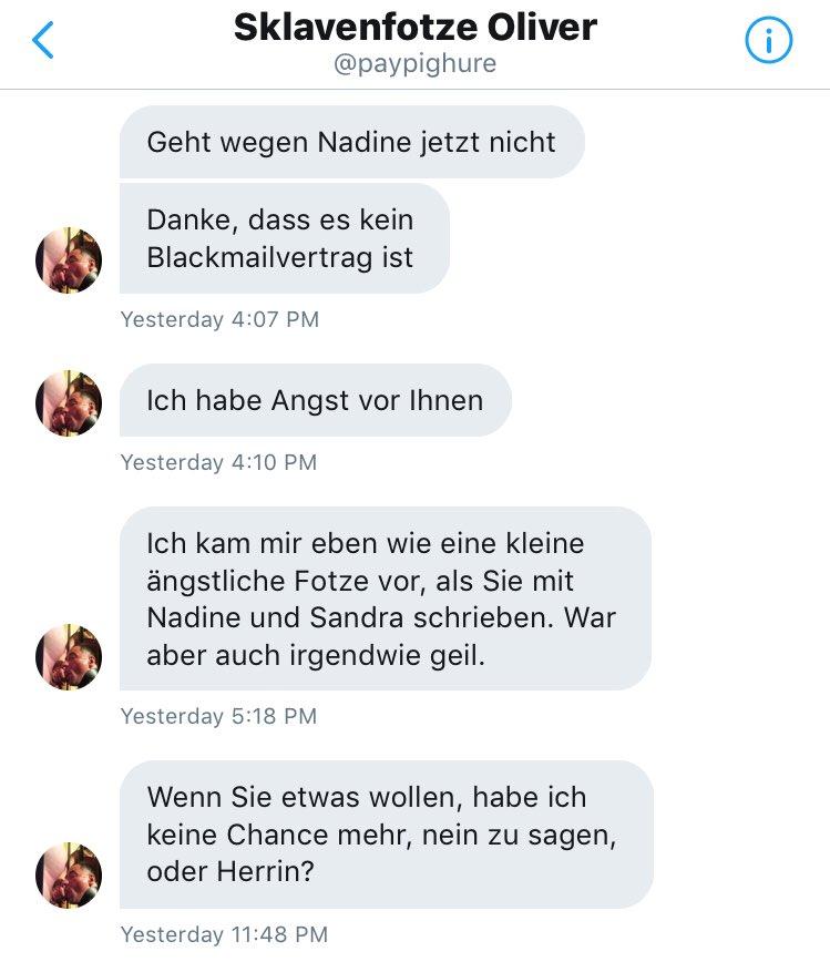 Vertrag blackmail Erpressung translation