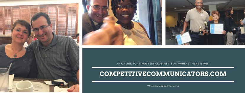@CCToastmaster 7:30pm eastern time #Toastmasters #whereleadersaremade <br>http://pic.twitter.com/DuZ062LBvp