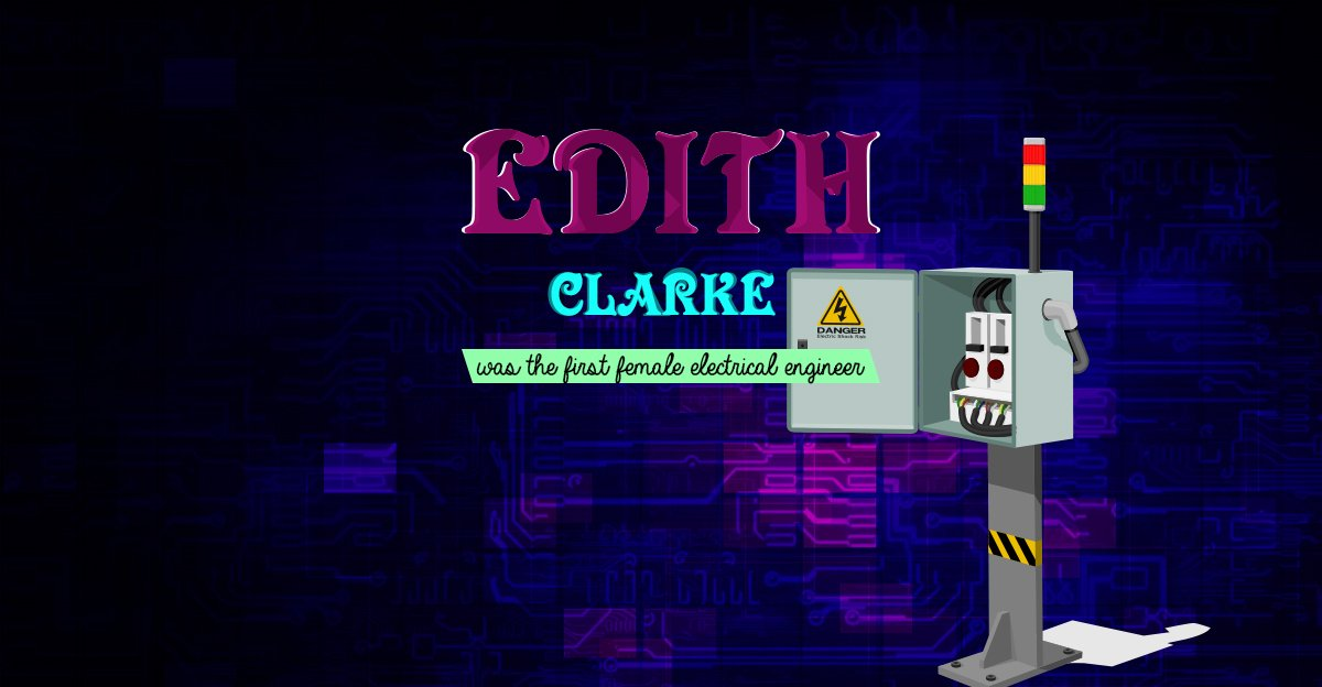 Did you know the first female electrical engineer in the country was Edith Clarke? #ScienceSunday <br>http://pic.twitter.com/jccmfH2z15
