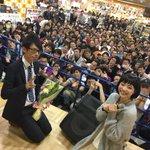 タワレコ新宿店さんにお集まりいただきありがとうございました!テイチク澤田さんもおつかれさまでした!ゆ…