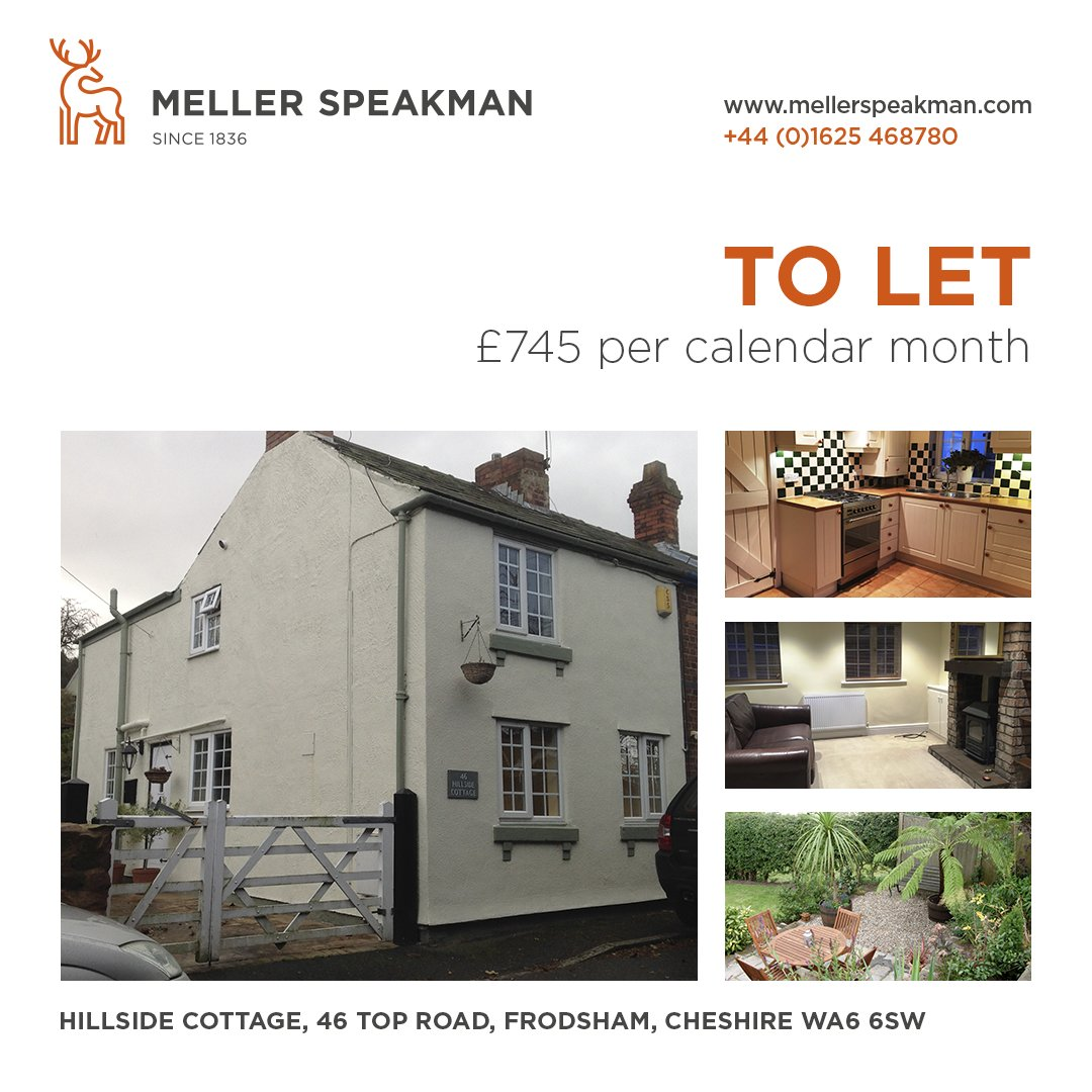 A well-presented 2-Bedroom cottage in #Frodsham, #Cheshire.  #DerbyshireIS #ATSocialMedia #CheshireBuzz #ToLet  Details:  http:// bit.ly/2zQVz4S  &nbsp;  <br>http://pic.twitter.com/5Xlfqotz3t
