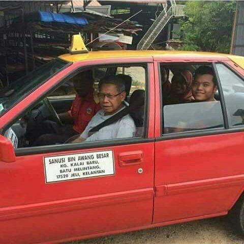 Image result for tok pa naik teksi