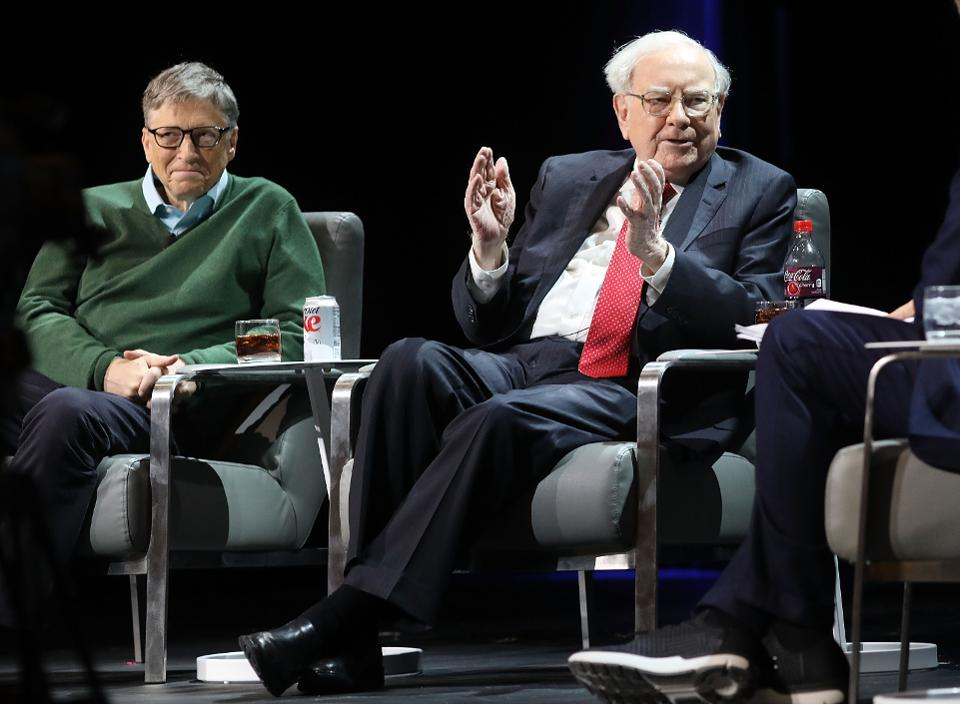 Forbes On Twitter Jeff Bezos Bill Gates And Warren Buffett Hold