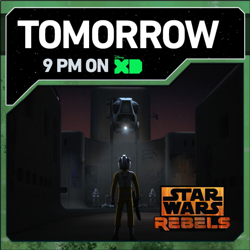 The 'Rebel Assault' begins in the #StarWarsRebels mid season finale. Tomorrow night at 9pm ET/PT on @DisneyXD. https://t.co/pWDp1TlbvT