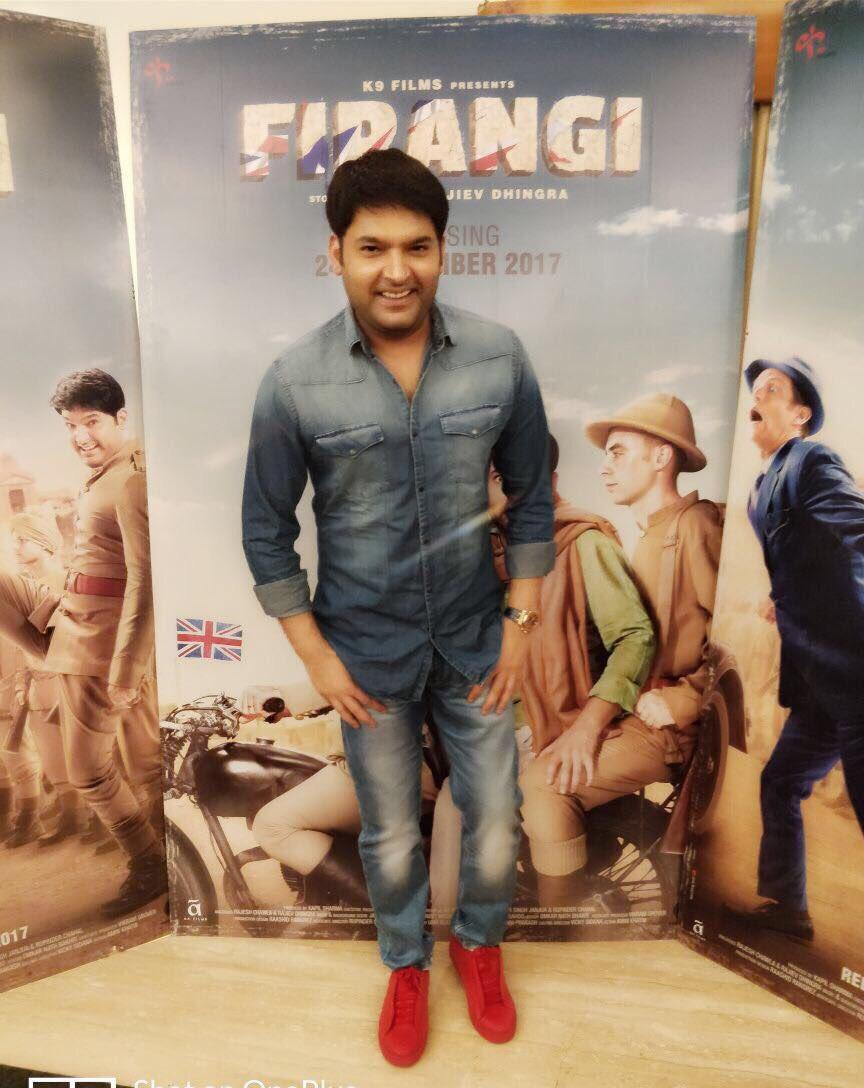 Firangi will do well at Box Office, hopes Kapil Sharma