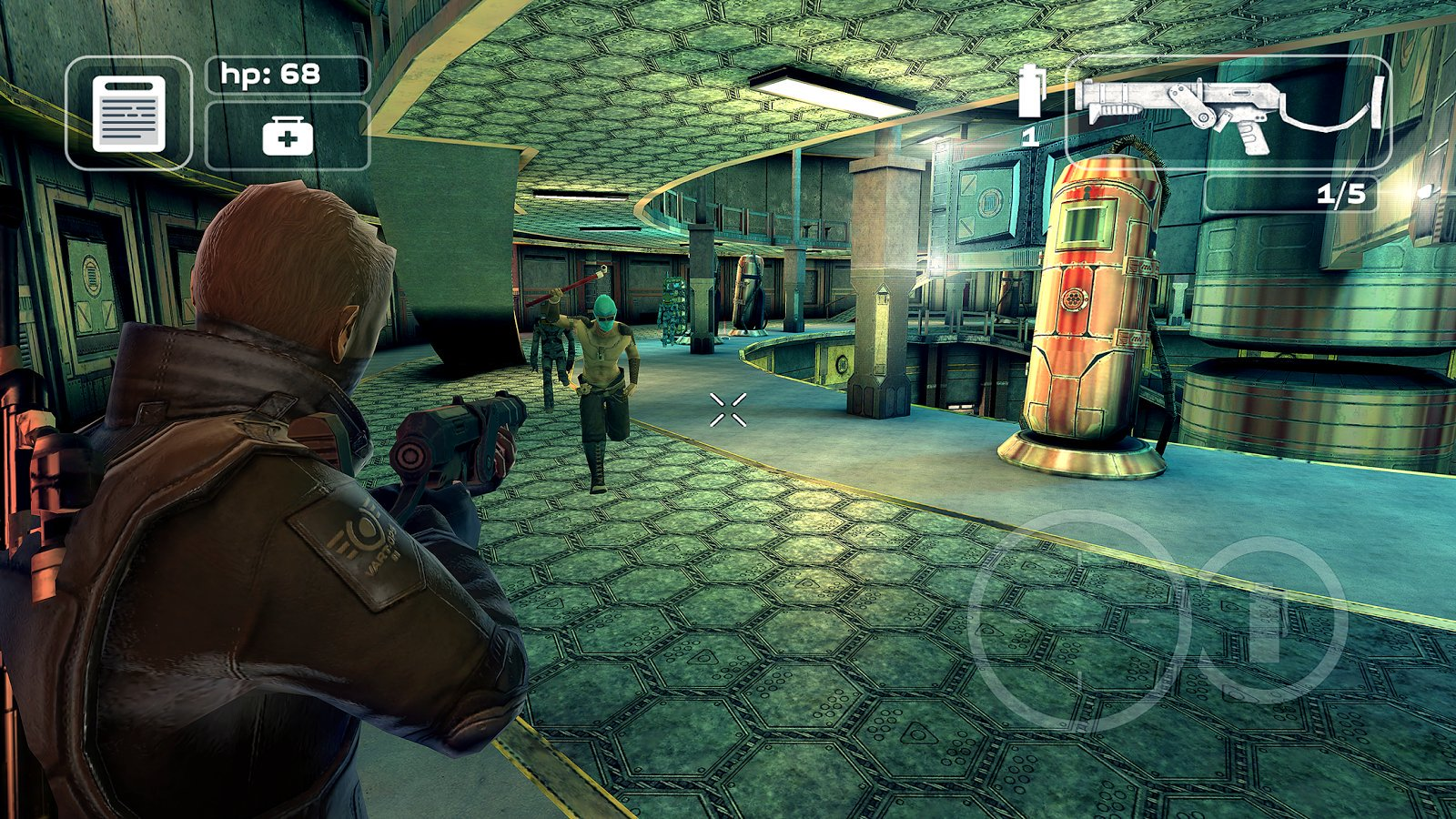 third person shooter video game - 1280×720