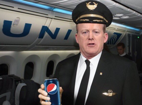 Ah yes. It's been an interesting year. #SeanSpicer #UnitedAirlines  #Pepsi<br>http://pic.twitter.com/vQRQbaRvSf
