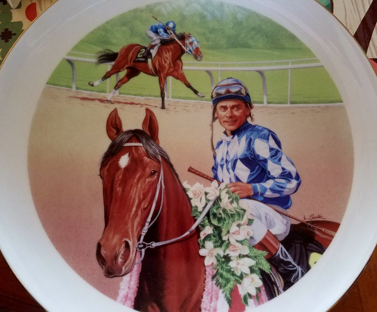 The newest edition to my shrine. Thank you eBay. #Alysheba <br>http://pic.twitter.com/iYGMa9JR7M