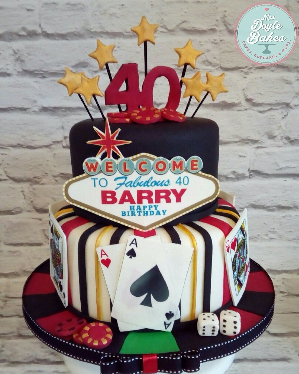 Brilliant Mrs Doyle Bakes On Twitter A Very Happy 40Th Birthday To Barry Funny Birthday Cards Online Inifodamsfinfo