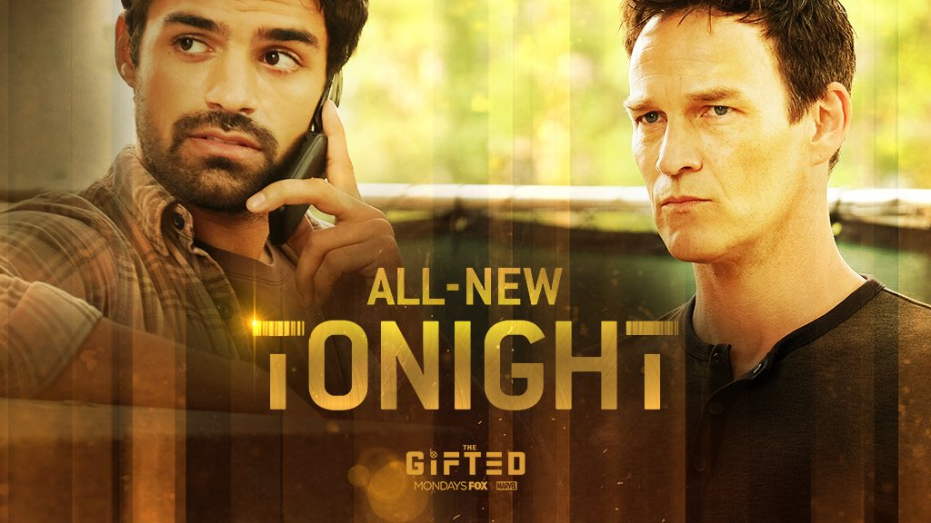 Don't miss the latest episode of @TheGiftedonFOX tonight at 9.00pm on @FOXTV and @NOWTV starring the brilliant @seanjteale! #mutantsunite  #gotyoursiX
