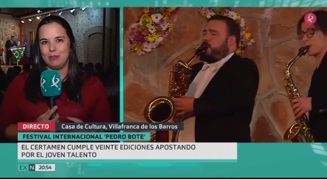 Villafranca de los Barros sigue descubriendo jóvenes talentos musicales con el Certamen