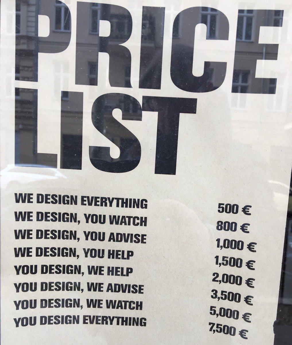 Design Studio Berlin hjalti hjalmarsson on price list of a design studio in