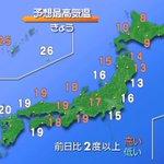 【きょうの天気は?】高気圧が日本の東へ離れ、湿った空気が流れ込みやすくなるでしょう。沖縄は雲が多く、…