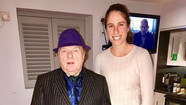 Elsewhere in tennis...  Johanna Konta has been hanging out with Van Morrison. https://t.co/Dt4HYEbZUf