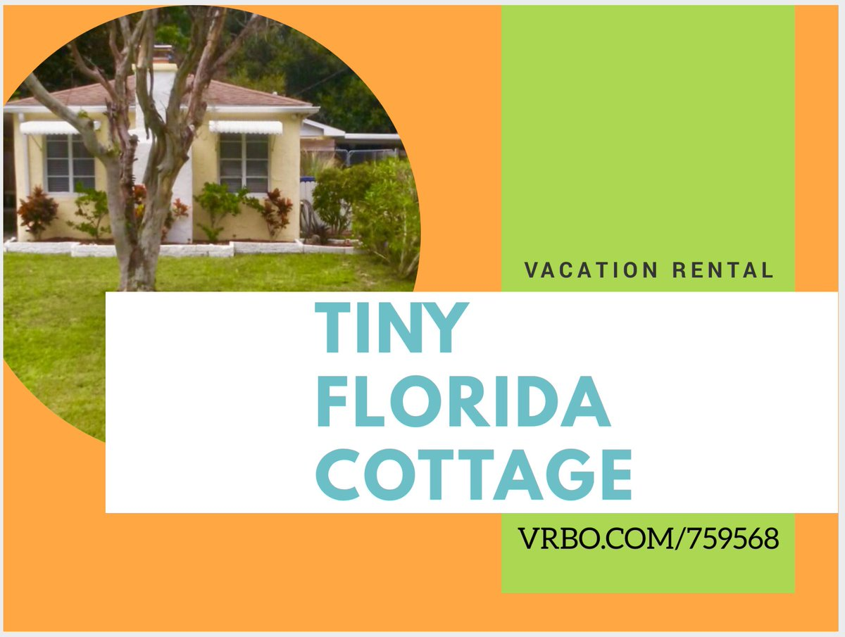 GREAT RATE is almost over at the @TinyFloridaCott  so book your stay today☀️ Log onto https://t.co/maG7c9Sb2x today! https://t.co/3PRrdOzLot