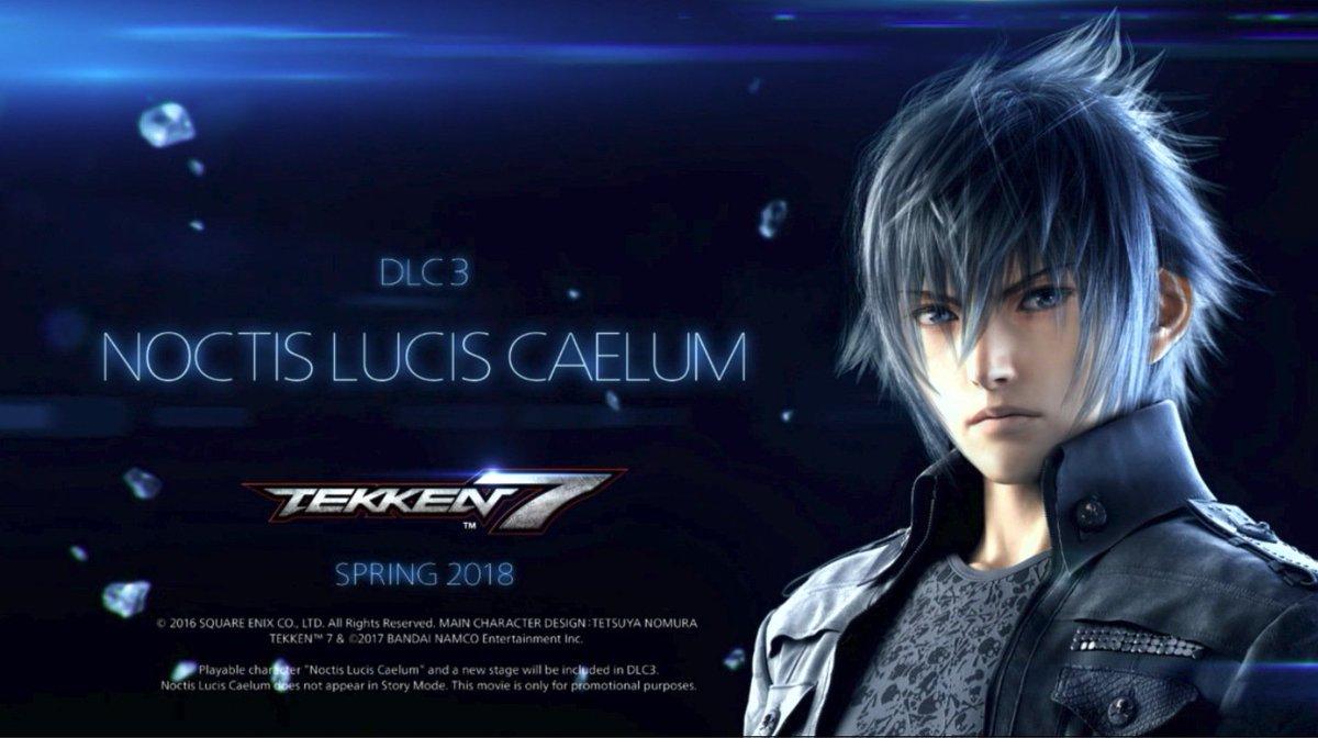 Noctis Lucis Caellum em Tekken 7 - DLC 3