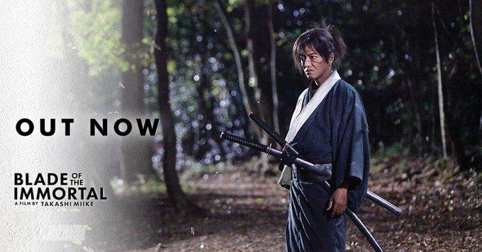 Happy Birthday to BLADE OF THE IMMORTAL star, Takuya Kimura.  Celebrate by watching his new film in NZ cinemas now.