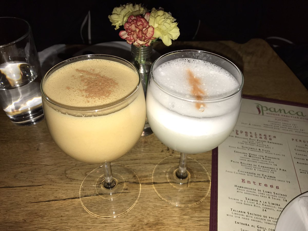 How delicious is my Peru and such a wonderful thing it is to share my Pisco Sour and one perfect algarrobina ahhhhh !!!!!!  #perú #piscosour #algarrobina #sharing #is #caring #love #my #peruvianroots  <br>http://pic.twitter.com/TZKMljRjbZ