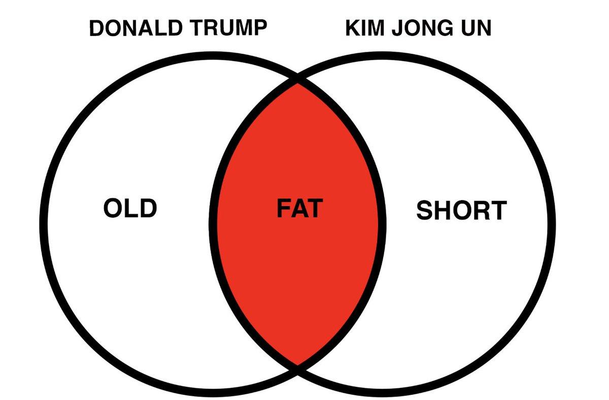 Tamara yajia on twitter i made a venn diagram comparing trump to tamara yajia on twitter i made a venn diagram comparing trump to kim jong un pooptronica