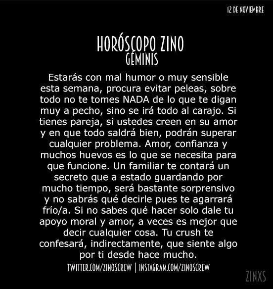 RT @zinoscrew: #DomingoDeHZCARAJO!  #HZ #Géminis  Parte I & II. https://t.co/UdJ4UAWNUO