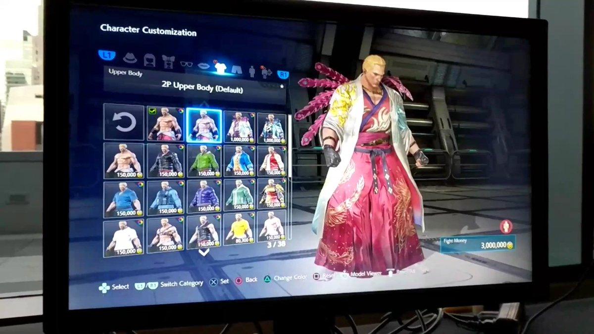 Wonkey On Twitter Tekken 7 Geese Howard Phoenix Kimono And Retro Suit Customs