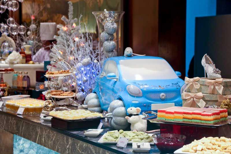 シンデレラの世界にチョコミントファウンテンの至福……!  ヒルトン東京に「チョコミントのチョコレート…