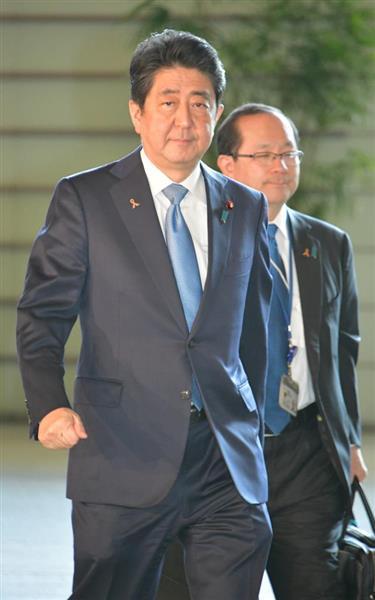 内閣支持率47・7% 2カ月ぶり不支持を上回る 改憲議論促進すべきだ61・0% sankei.com…