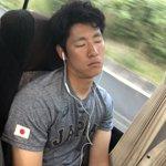 みんなの寝顔💤スヤスヤあともう少しだ🐾みんな頑張ろー‼️#侍JAPAN pic.twitter.co…