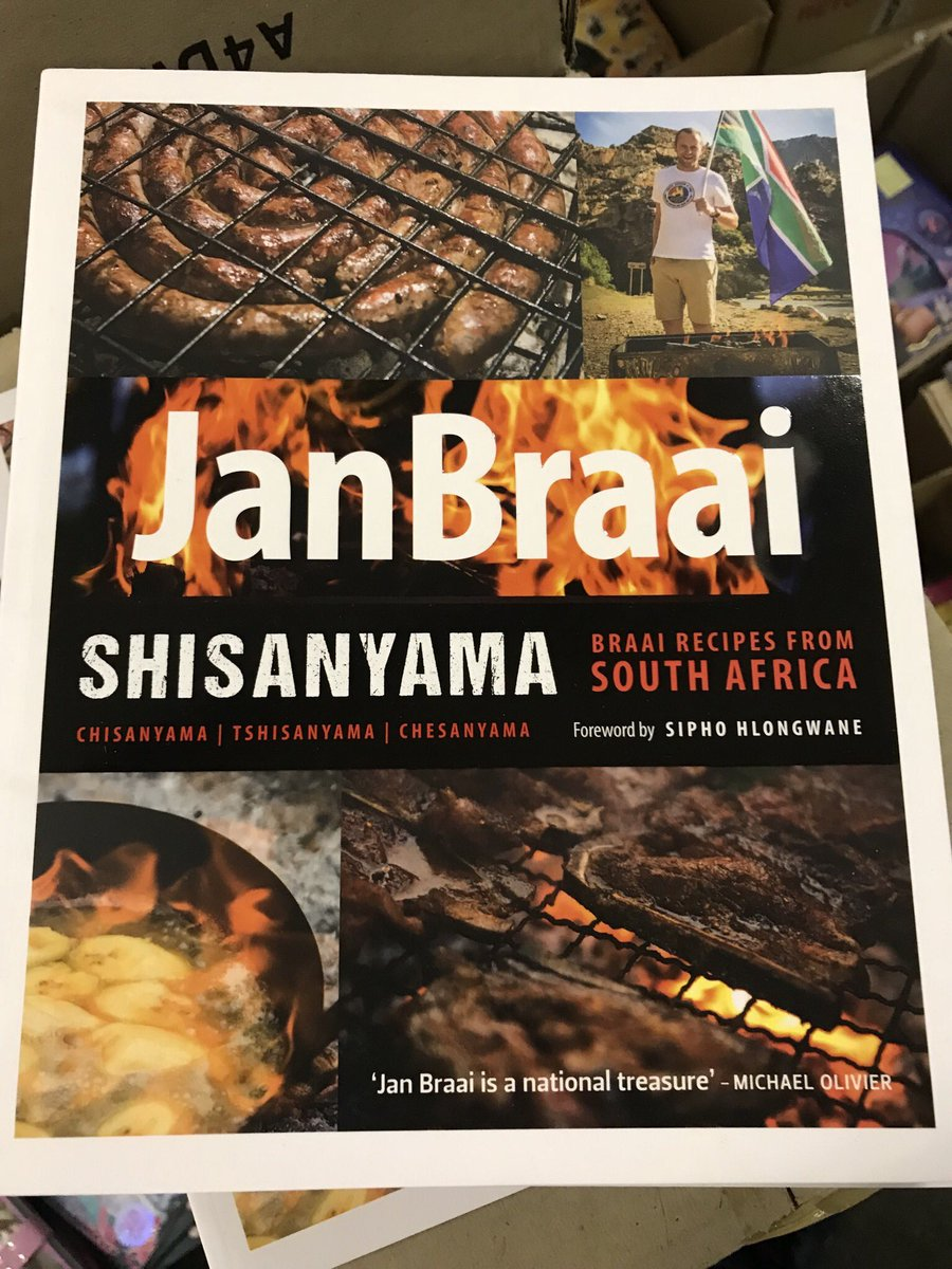 Image result for Shisanyama: Braai Recipes from South Africa by Jan Braai