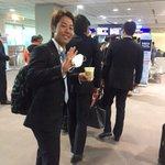 「お疲れ様でした!」と鈴木キャプテン。帰国の途につきます。(広報) #chibalotte pic.…