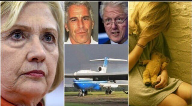 The Same People Calling For #JudgeRoyMoore To Step Down Over  Unproven Allegations  Were SILENT When  Bill Clinton Flew On The Epstein Plane To  Pedophile Island