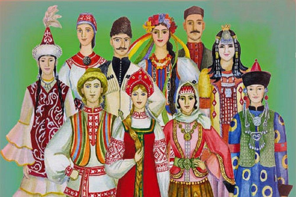 Национальности народов россии в картинках