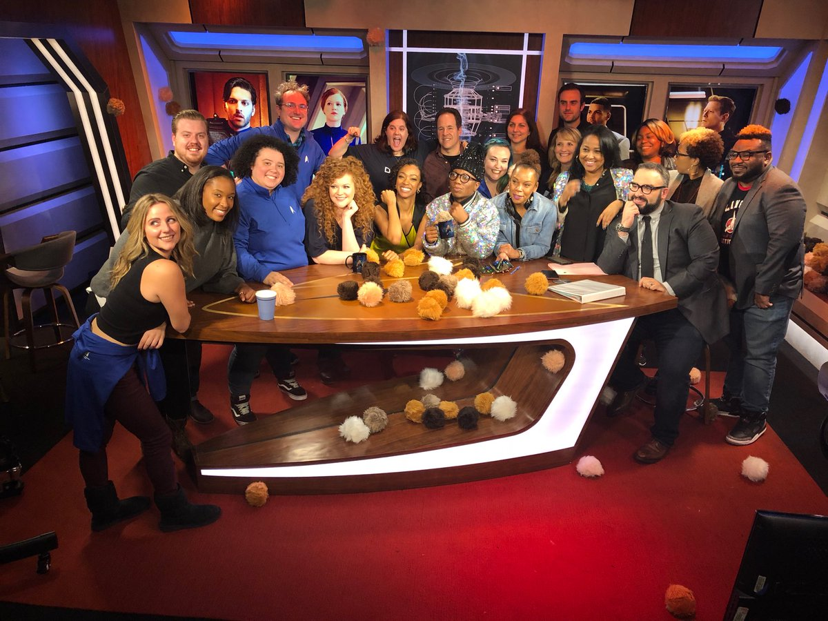 Thank you to the crew of #AfterTrek for...